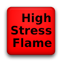High Stress Flame logo
