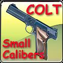 Colt pistols of small caliber icon