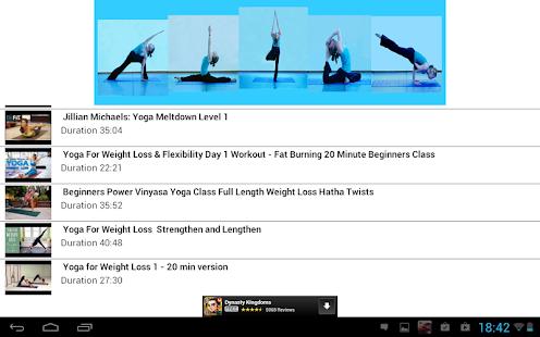通過瑜伽減肥
