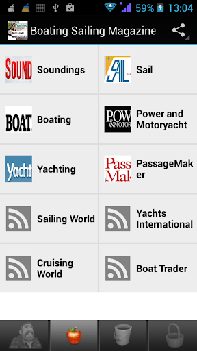 Boating Sailing magazines