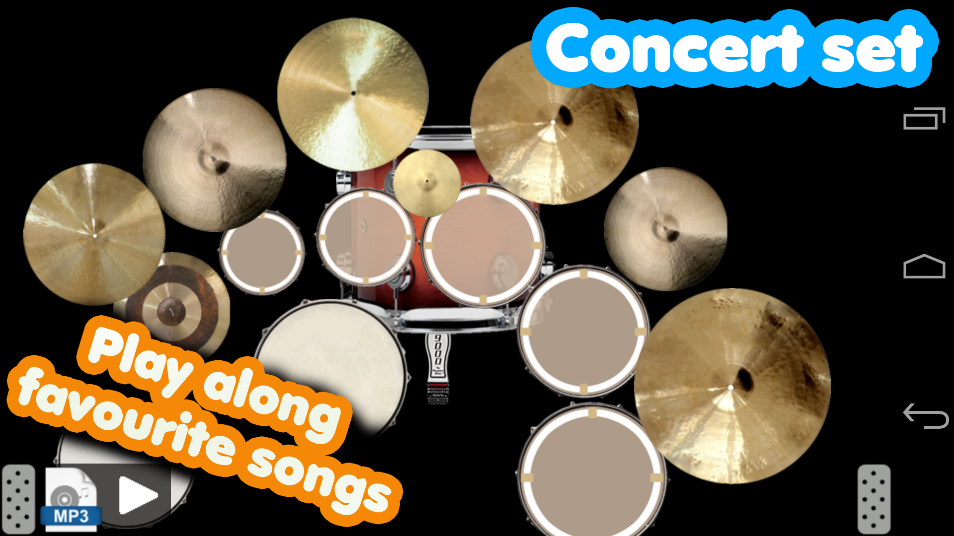 Drum set screenshot #2