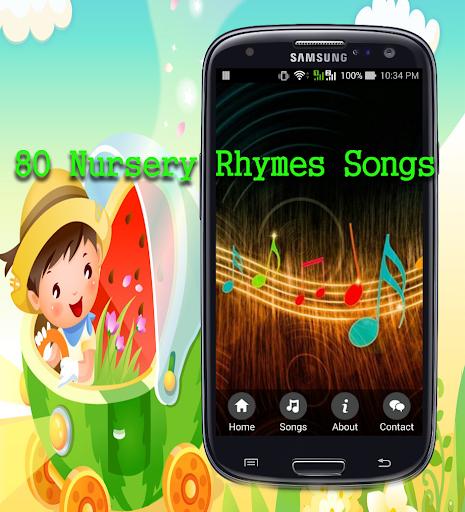 80 Nursery Rhymes songs
