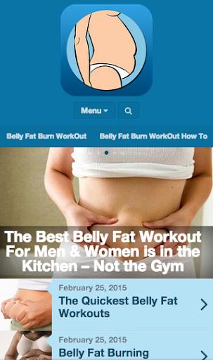 腹部脂肪燃燒鍛煉