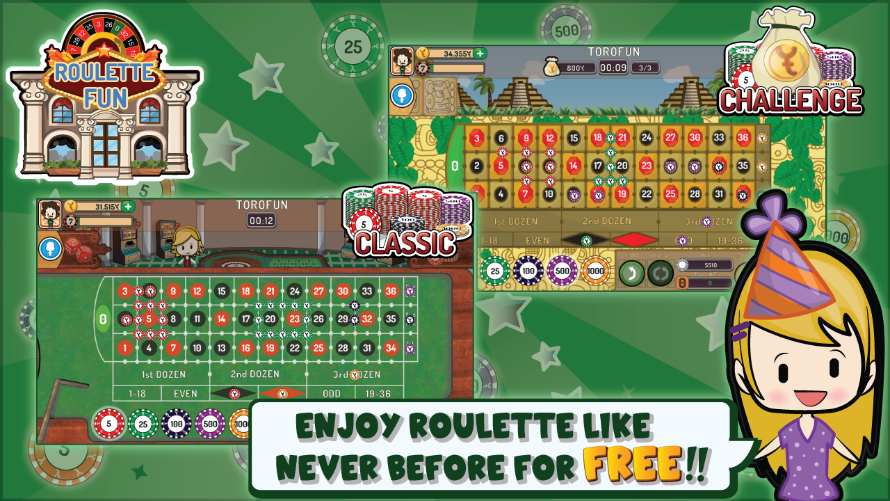free to play roulette for fun
