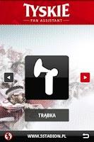 Screenshot of Tyskie Fan Assistant