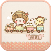 BeBe Train go launcher theme