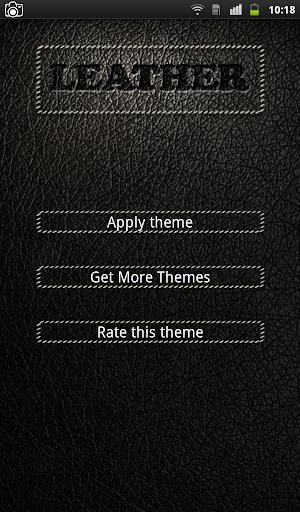Black Leather Keyboard