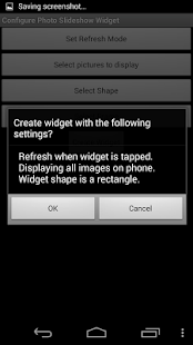 Photo Slideshow Widget- screenshot thumbnail