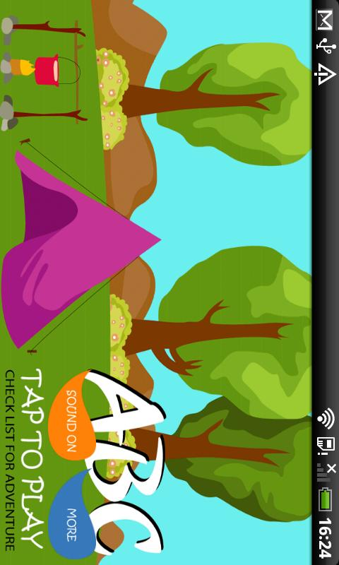 Baby Adventure Flash Cards - screenshot