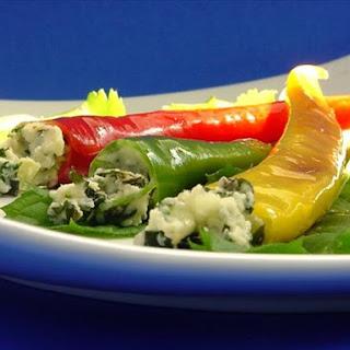 """Caribbean -Yucatan"" Lime Cilantro Mint Swordfish Stuffed Poblanos Recipe"