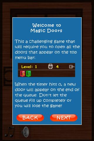Magic Doors - screenshot