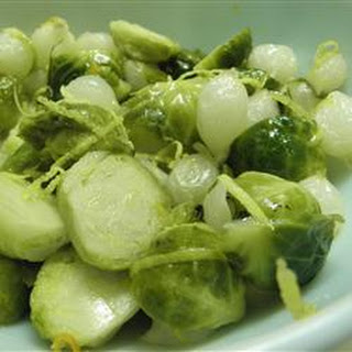Honey Dijon Brussels Sprouts