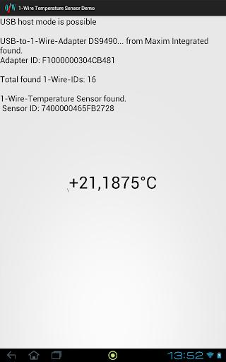 1-Wire-Demo screenshot 2
