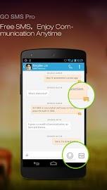 GO SMS Pro Screenshot 1
