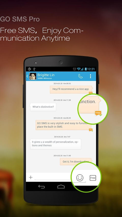 GO SMS Pro Premium v6.0 build 229 APK