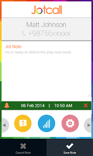 Jotcall- screenshot thumbnail