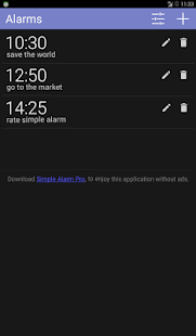 Simple Alarm Pro- screenshot thumbnail