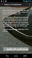 Screenshot of Battery LED Notification