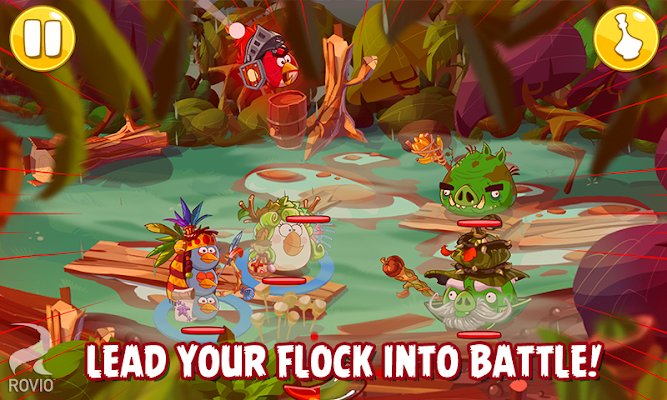 Angry Birds Epic - screenshot