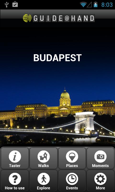 Budapest GUIDE@HAND- screenshot