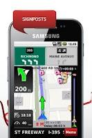 Screenshot of NDrive Eastern Eur