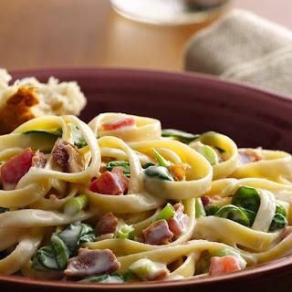Pasta Carbonara with Bacon