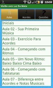 Violão com Luz Da Mata Grátis- screenshot thumbnail