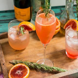 Blood Orange Rosemary Spritzer