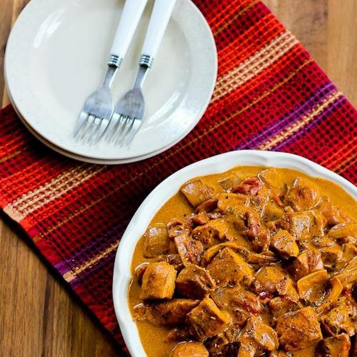Chicken Paprikash (Paprika Chicken) Recipe
