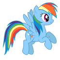 Rainbow Dash Live Wallpaper icon