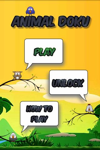 Animal Icon Puzzles