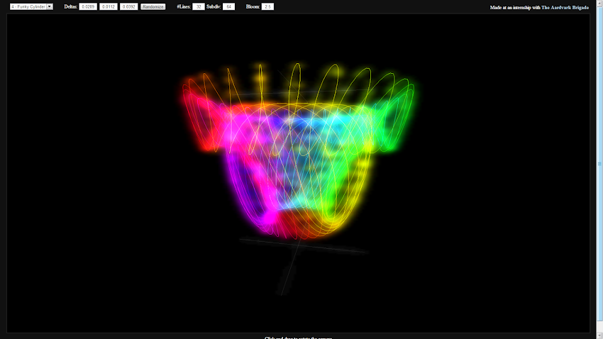 3D Trig Music Visualizer by Steven Hoffing | Experiments