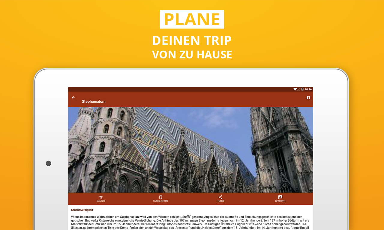 Spanien Reiseführer – Screenshot