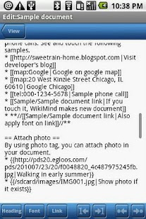 WikiMind note - screenshot thumbnail