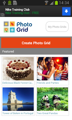 Pics Grid