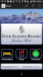 Four Seasons Jackson Hole - screenshot thumbnail