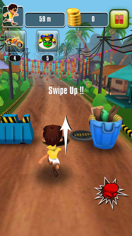 Chennai Express Official Game - screenshot