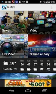 WKRN - Nashville's News 2 - screenshot thumbnail