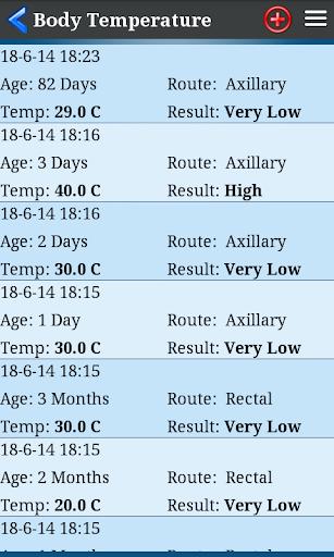 Body Temperature  screenshots 2