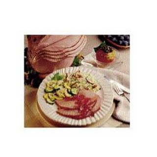 Plum Glazed Ham
