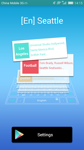 Seattle dictionary TouchPal