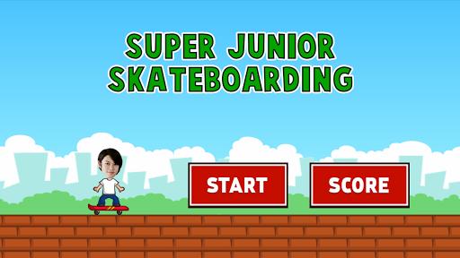 Super Junior Skateboarding