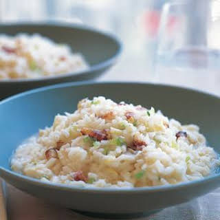 Risotto with Crab and Lemon.