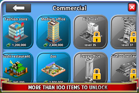 City Island ™: Builder Tycoon 3.3.3 MOD (Unlimited Cash/Gold) 4