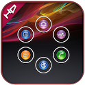 Xperia z smart launcher theme icon
