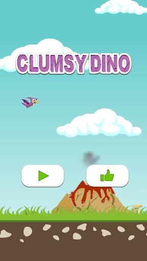 Clumsy Dino - Mega Jump