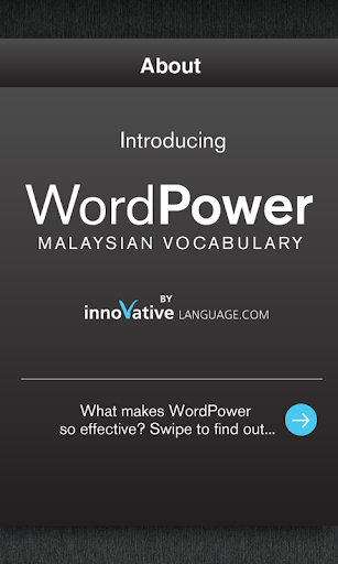Learn Malay WordPower