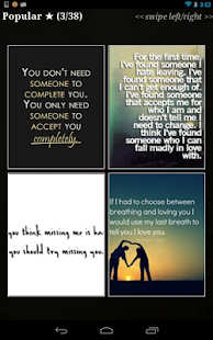 "Love Quotes"" - screenshot thumbnail"