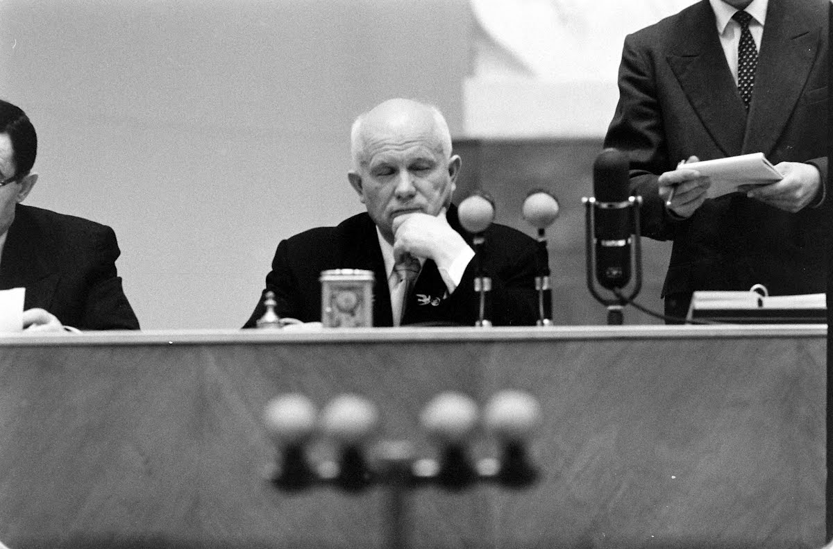 Khrushchev, Press Conf. In Berlin