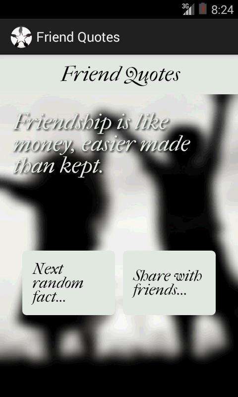 Friend Quotes- screenshot